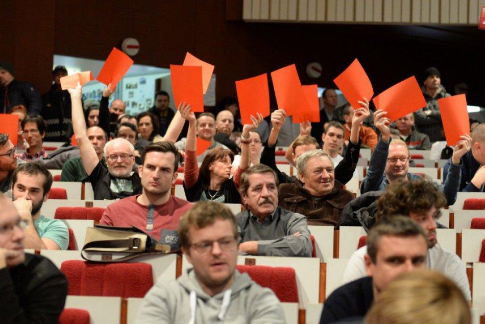Decembrové rokovanie Mestského zastupiteľstva v Košiciach v búrlivej atmosfére