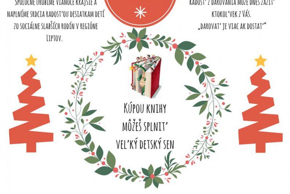 Ružomberčania spravte na Vianoce dobrý skutok a DARUJTE KNIHU!