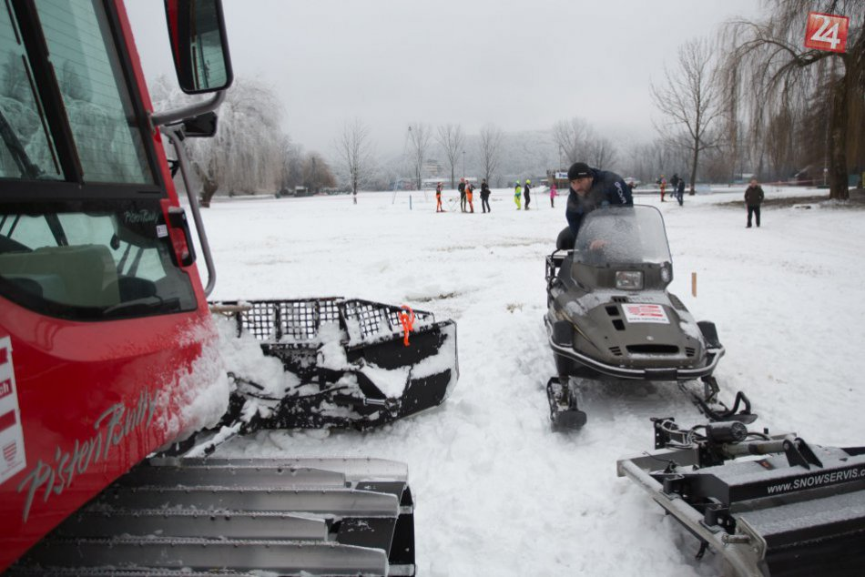 V OBRAZOCH: Nový areál zimných športov na bystrickom kúpalisku