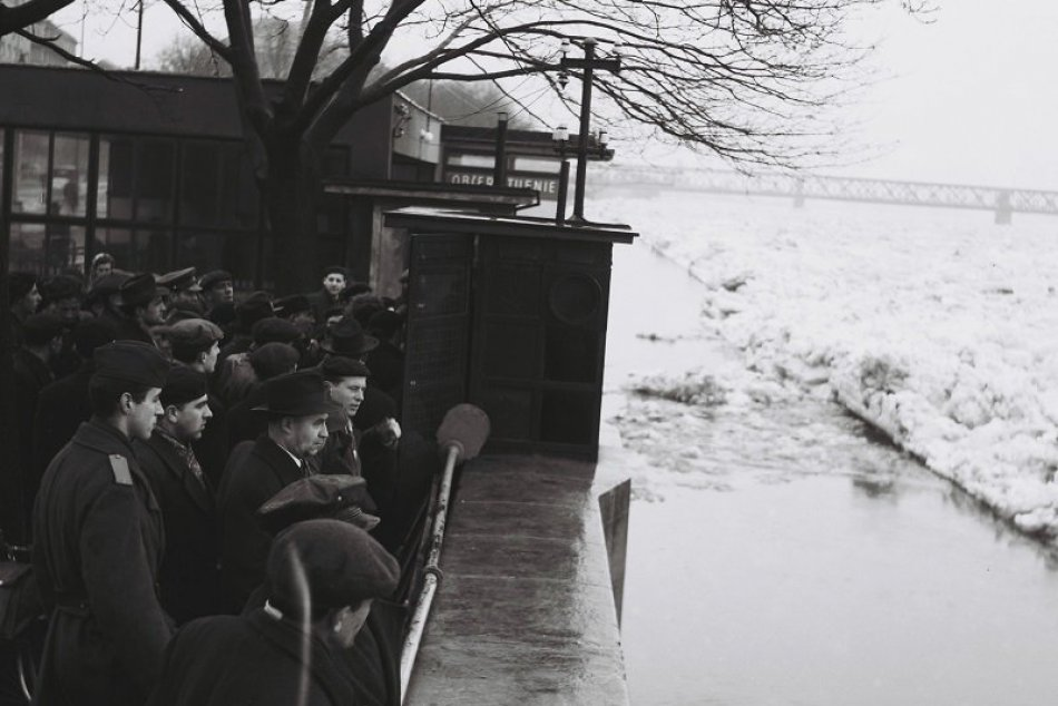 Zamrznutý Dunaj