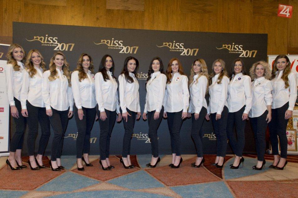 V OBRAZOCH: Finalistky Miss Slovensko 2017