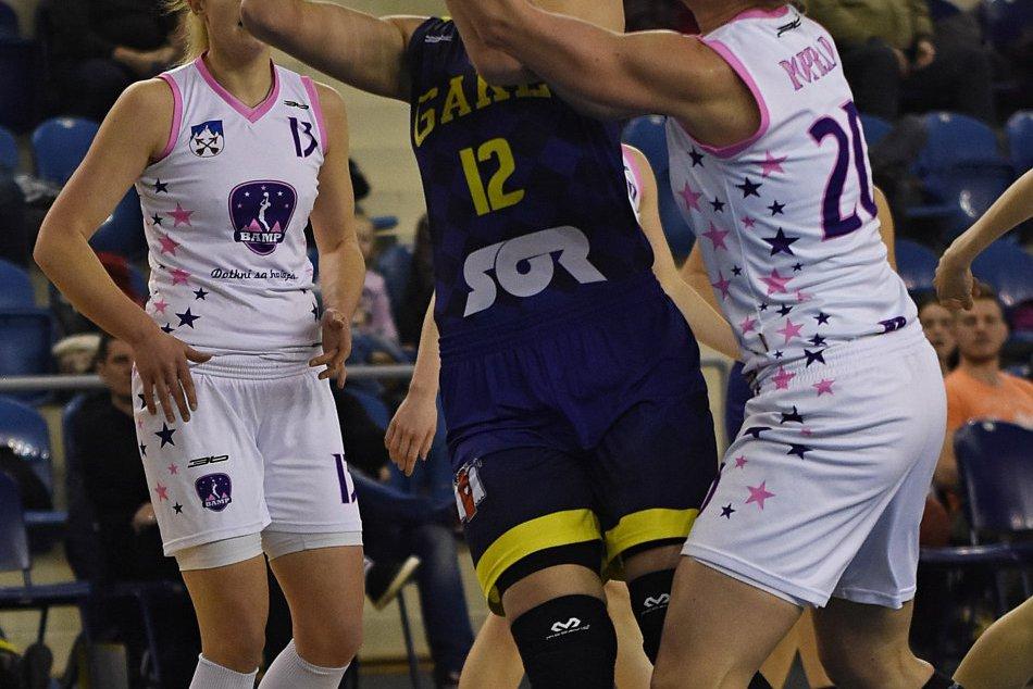 Basketbal: BAMP Poprad - Good Angels Košice 02/2017