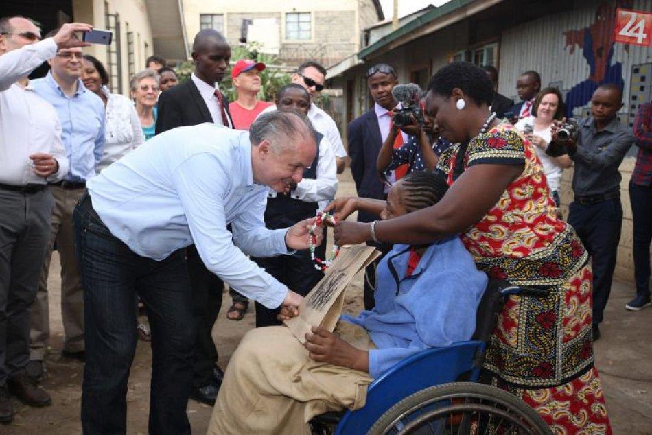 Prezident Andrej Kiska v Keni