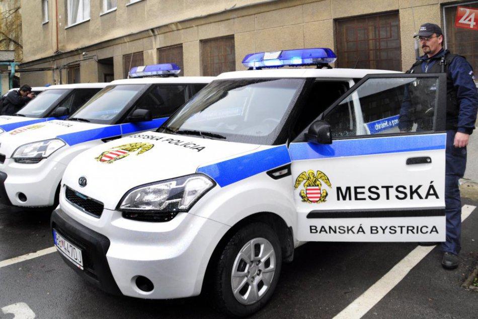 Mestská polícia Banská Bystrica v OBRAZOCH