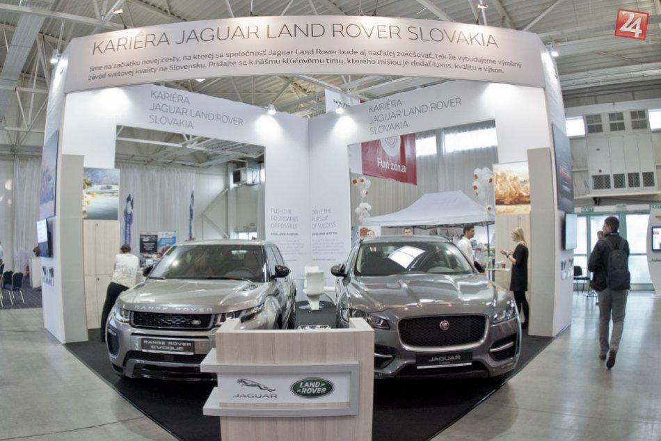 Jaguar hľadá ľudí na veľtrhu práce: V Nitre chce vytvoriť tím svetovej úrovne
