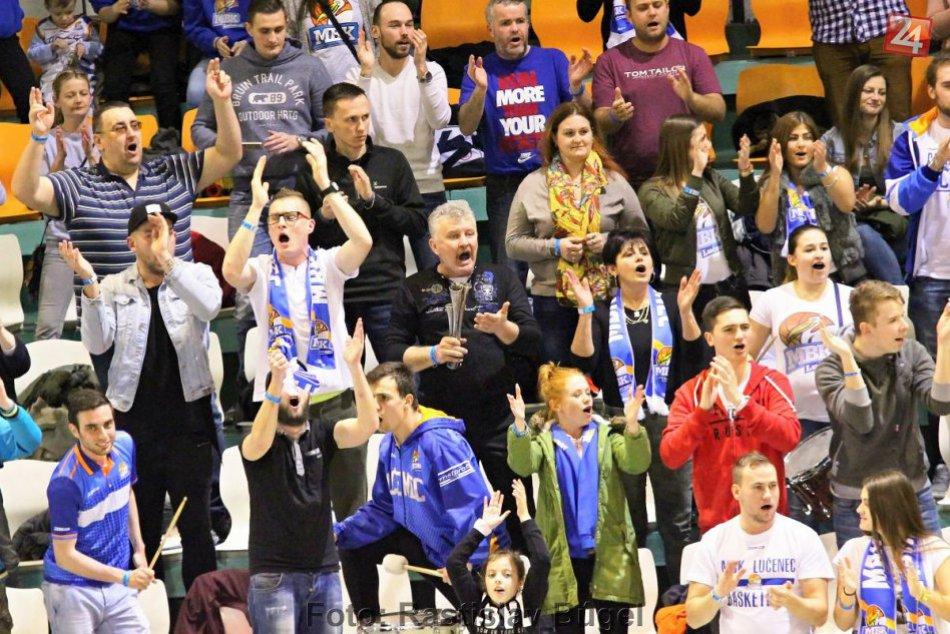 Basketbalisti Nitry hostili Lučenec: O víťazovi sa rozhodlo v úvode zápasu