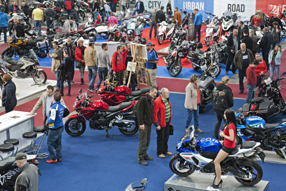 Výstava Motocykel a Boat Show