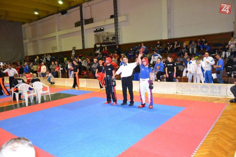 Kickboxeri opäť úspešní: Pre Prešov získali ďalšie medaily