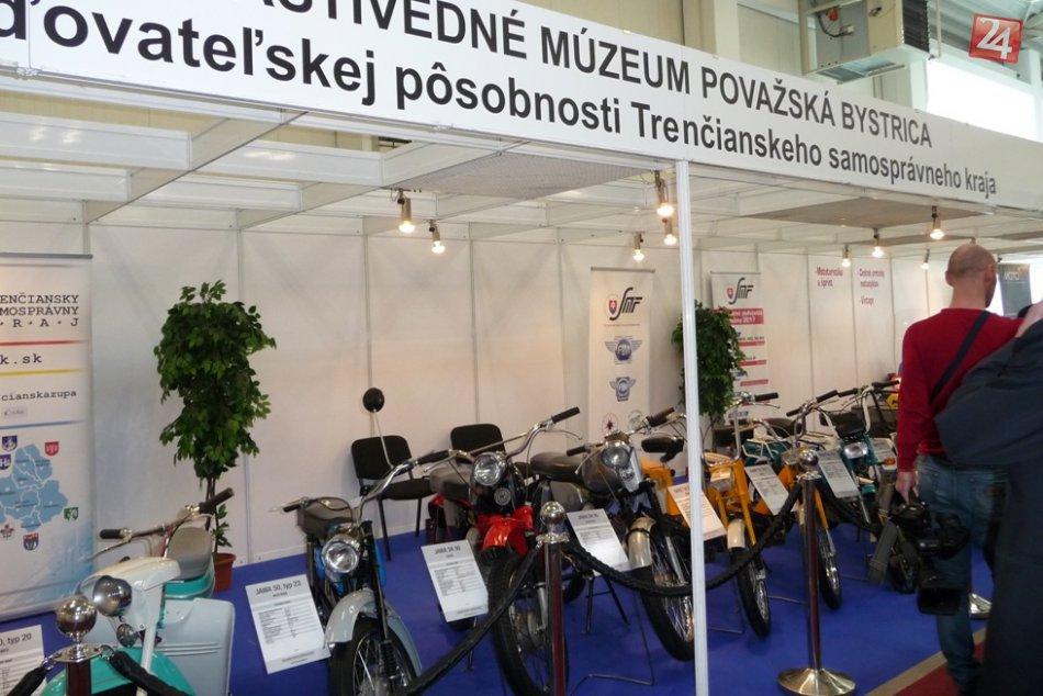 Veľká výstava v Bratislave: Záujem o považskobystrické motorky