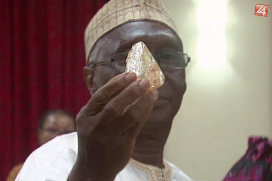 Kresťanský duchovný našiel jeden z najväčších diamantov na svete