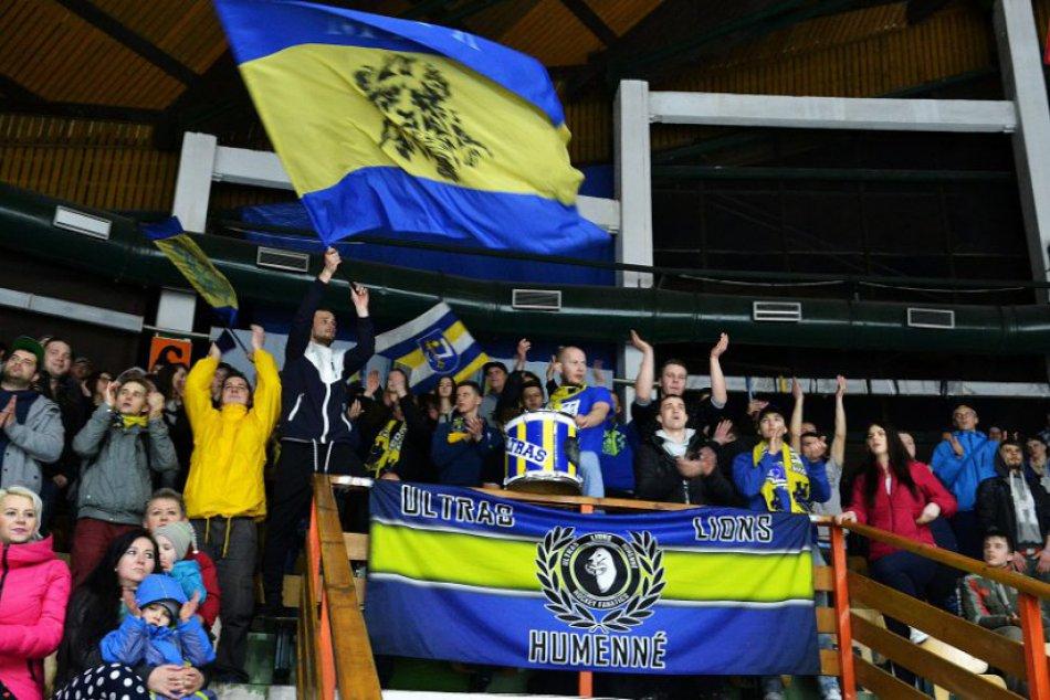 FOTO: Druhý finálový zápas pre Humenčanov!