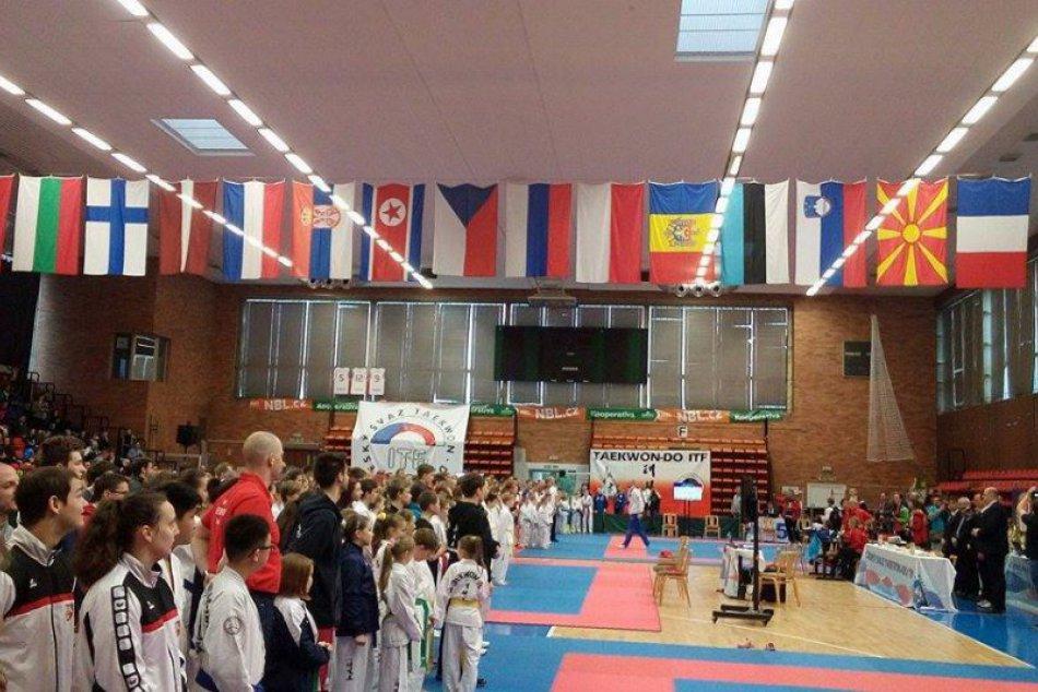 OBRAZOM z Czech Open 2017 v taekwonde