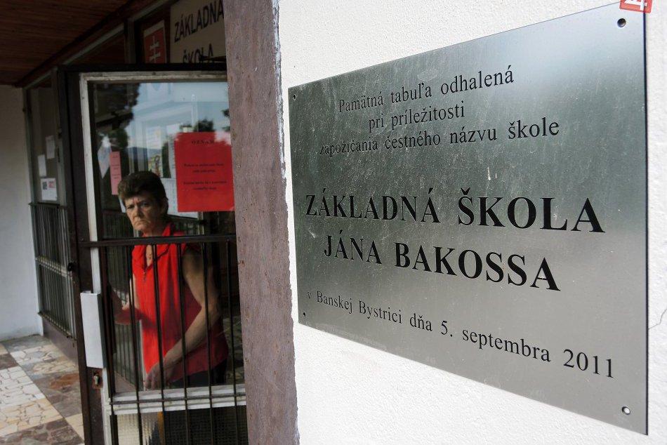 V OBRAZOCH: ZŠ J. Bakossa v Banskej Bystrici