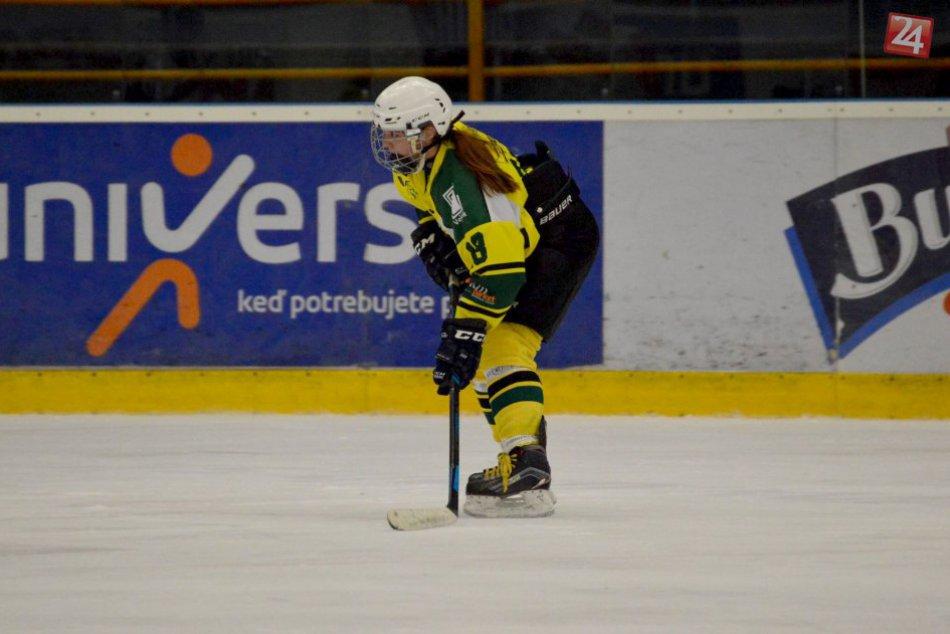 Hokejistka Lívia Mišová: V prešovskej Šarišanke je kapitánkou