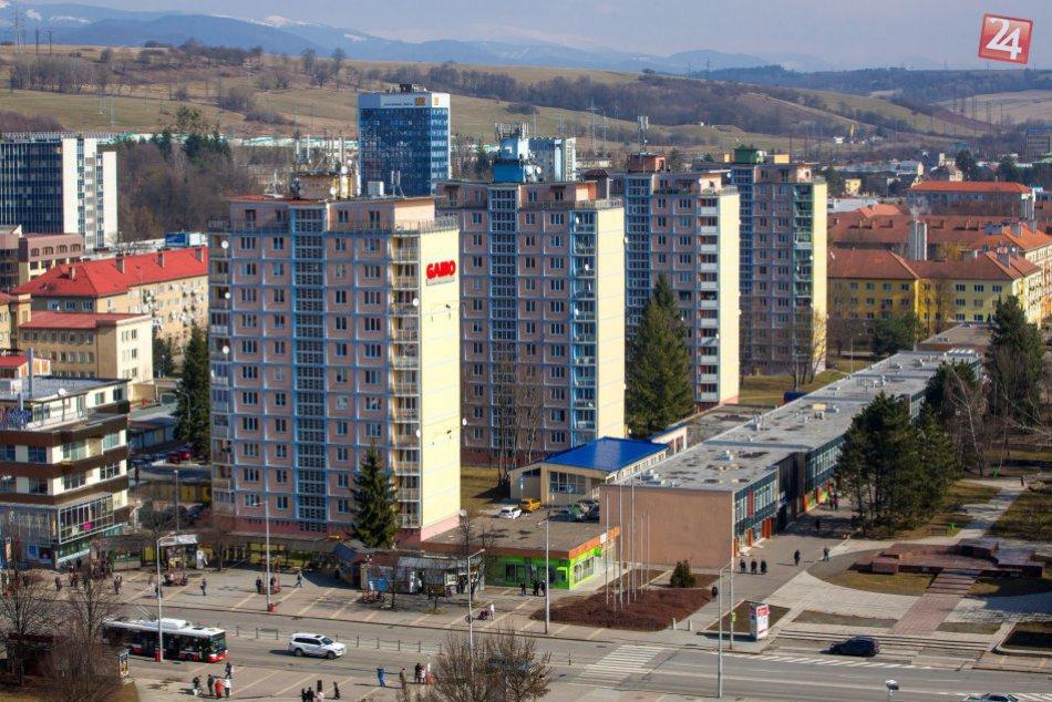 V OBRAZOCH: Krásy jarnej Bystrice z vtáčej perspektívy