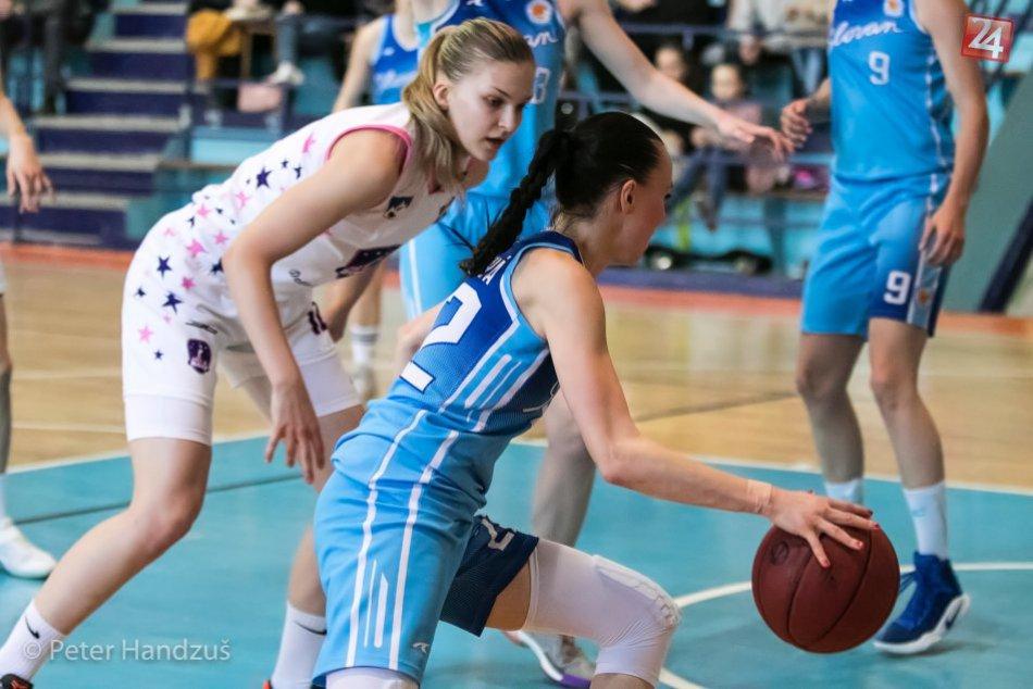 Basketbal: BAM Poprad - Slovan Bratislava