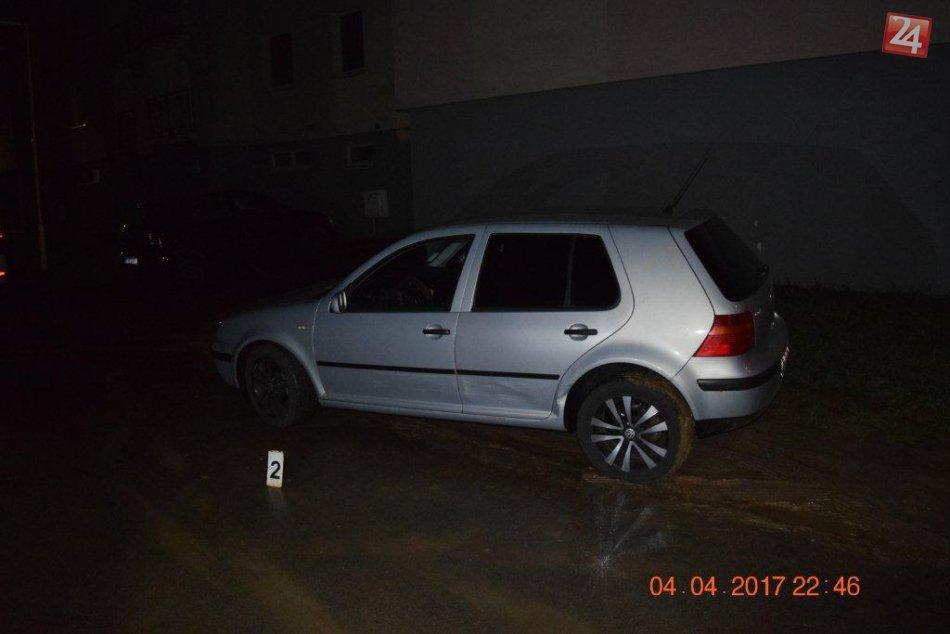 FOTO z miesta: Renault nabúral v Michalovciach až do štyroch vozidiel!