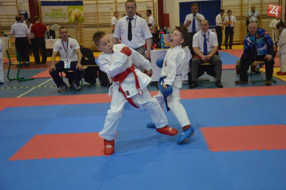 Central karate klub Poprad Slovenský pohár 04/2017