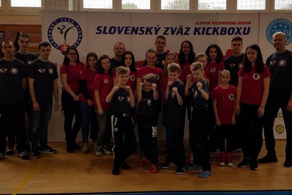 Makajú na sebe a prináša to ovocie: Prešovskí kickboxeri opäť úspešní