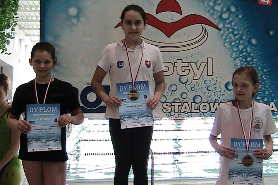 Mladí humenskí plavci žali úspechy na medzinárodných pretekoch!