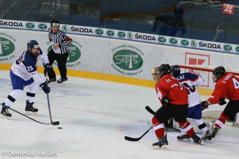 Švajčiarsko – Slovensko 1:2