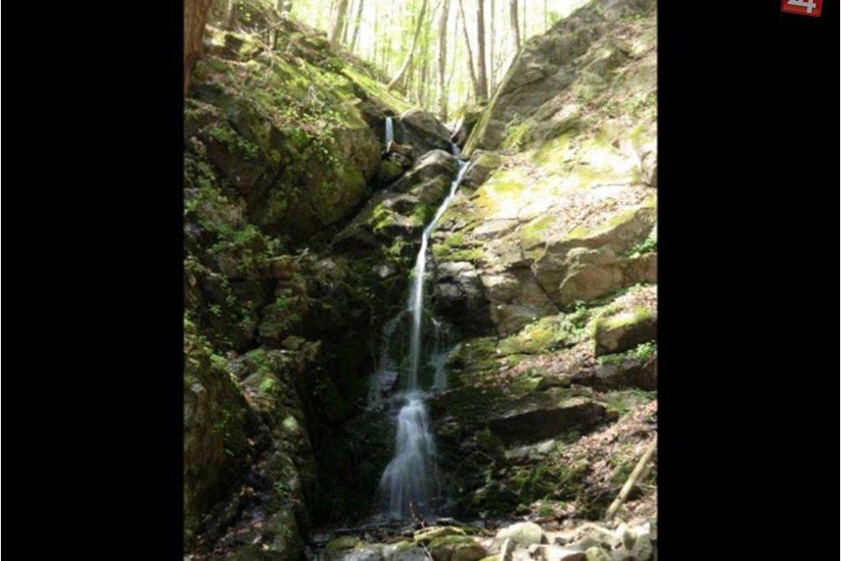 V OBRAZOCH: Turovský vodopád pri Zvolene