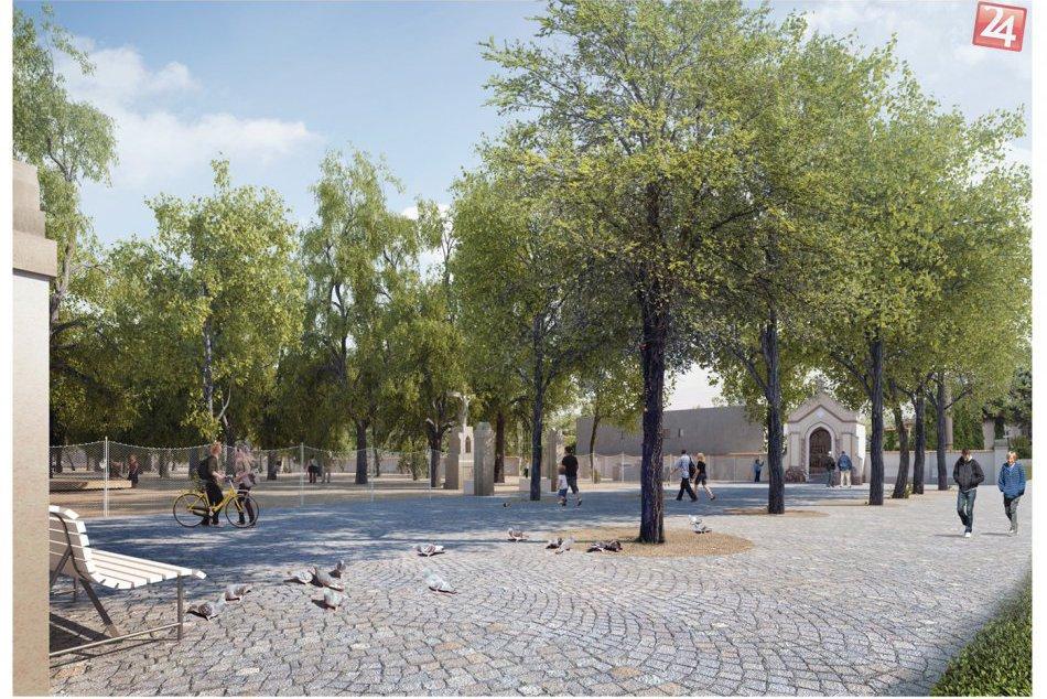 Obrazom: Takto má vyzerať park v Leopoldove