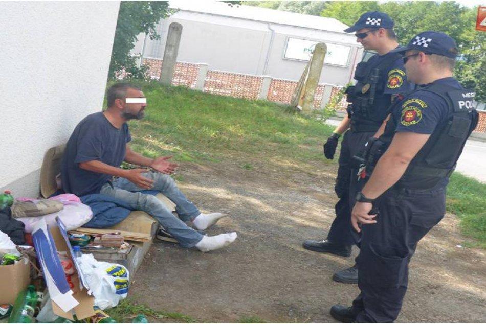 V OBRAZOCH: Mestská polícia Zvolen zasahuje