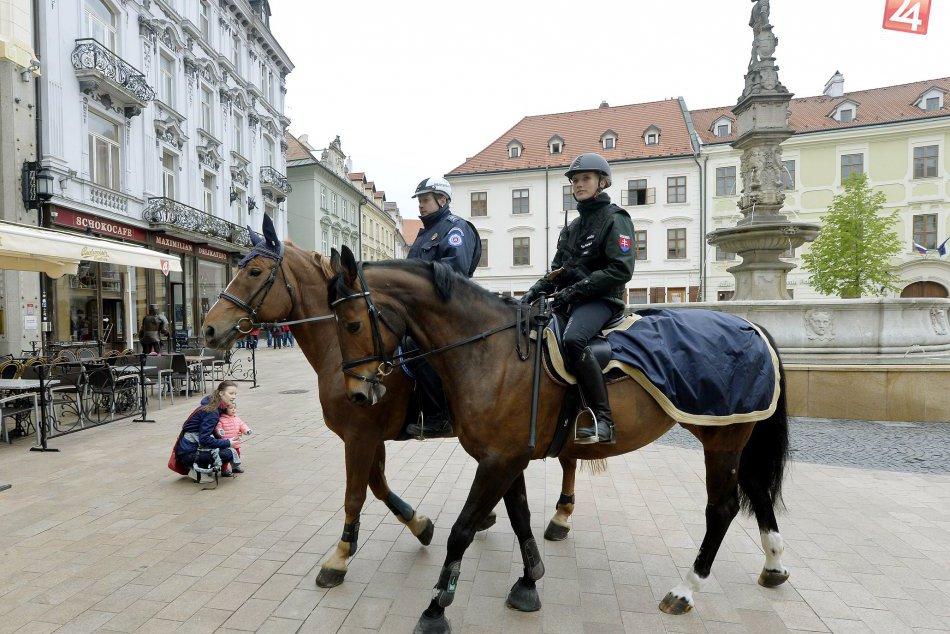 Jazdecká polícia Bratislava