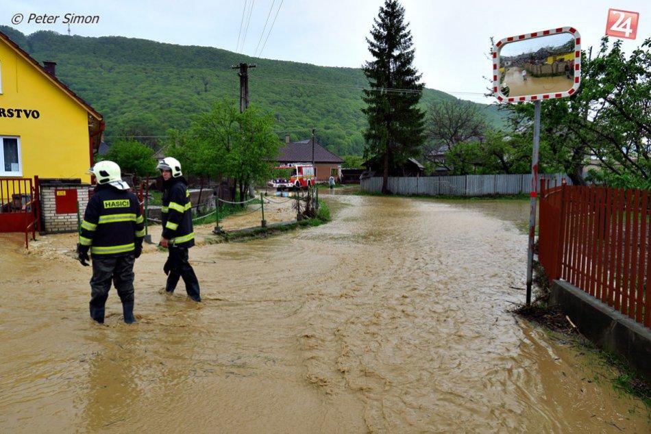 Obrazom: Povodeň v Joviciach na fotkách