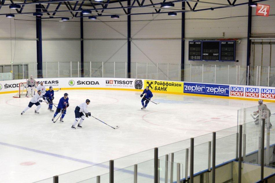 V OBRAZOCH: Tréning slovenskej hokejovej reprezentácie na MS
