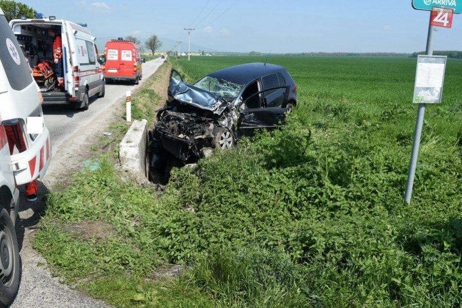 OBRAZOM: V okrese Trnava došlo k nešťastiu, zasahoval aj vrtuľník