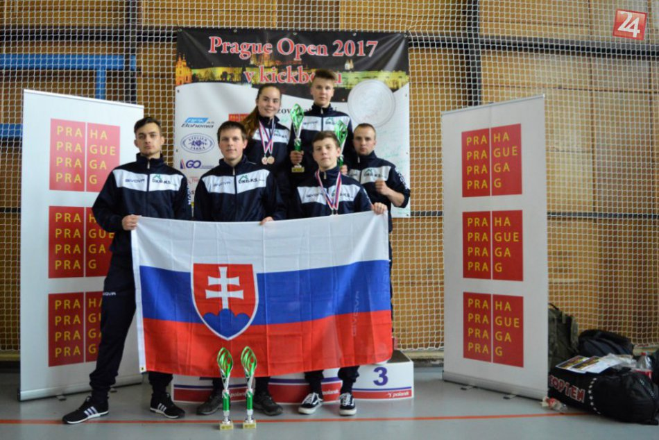 Športový Kickbox klub Michalovce získal v Prahe viaceré medaily