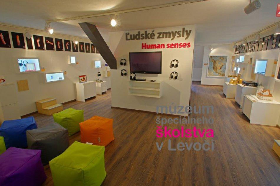 Obrazom: Múzeum špeciálneho školstva v Levoči