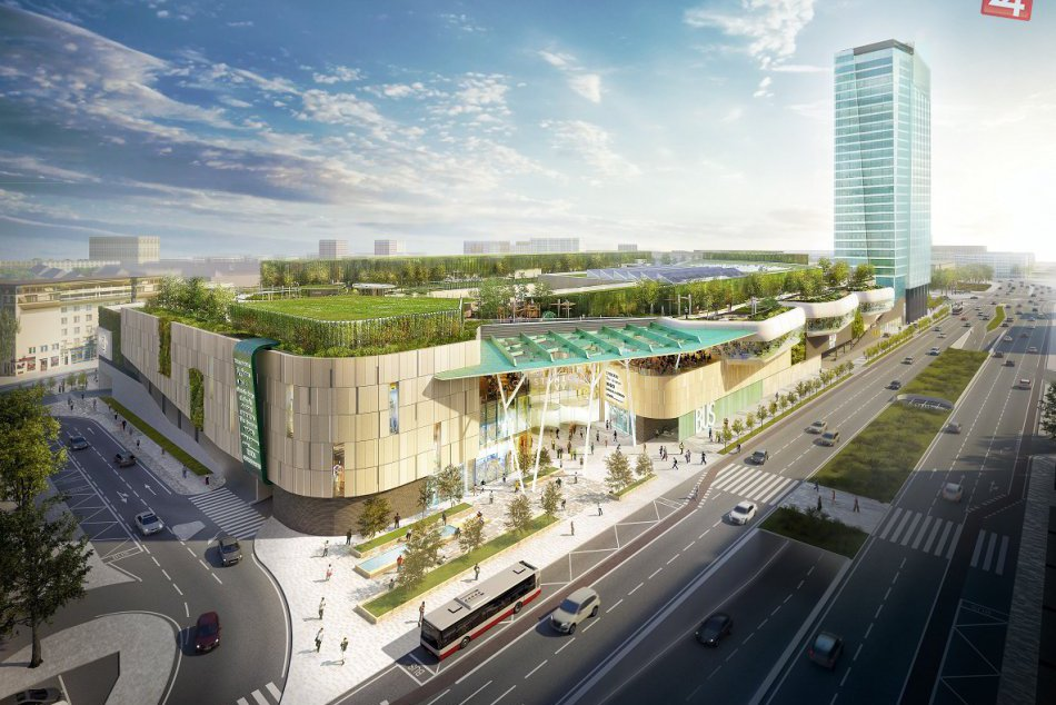 Začína sa výstavba projektu Stanica Nivy