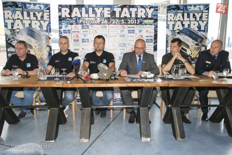 Tlačová konferencia Rallye Tatry