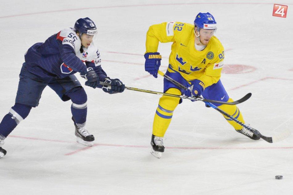 Slovensko sa rozlúčilo s majstrovstvami sveta: So Švédmi prehra o dva góly