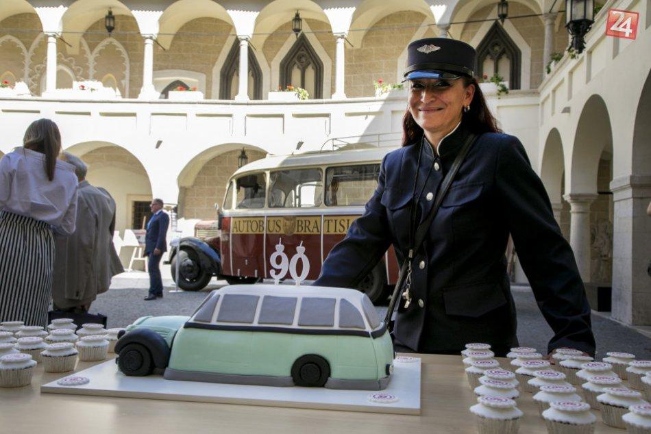 Autobusová doprava v Bratislave oslavuje 90. výročie