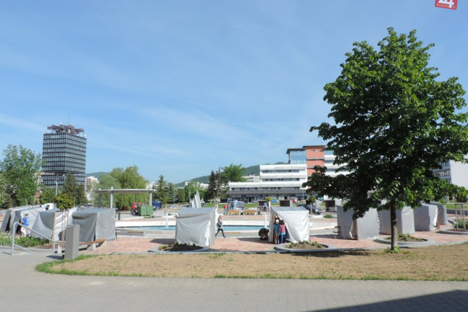 Centrum Považskej ekologicky ožilo: Ekojarmok priamo pri fontáne!