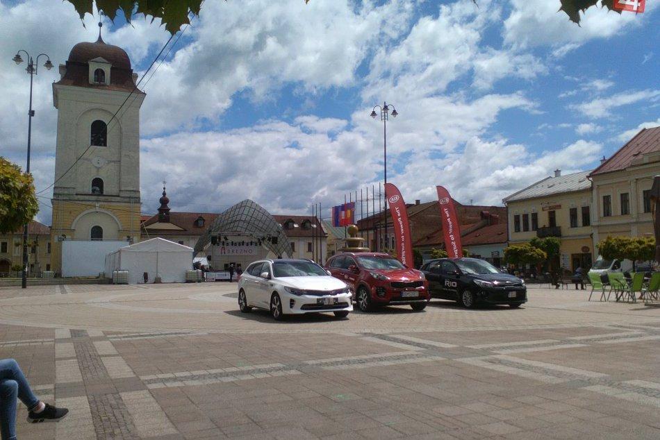 V OBRAZOCH: Prípravy Dní mesta Brezno v plnom prúde