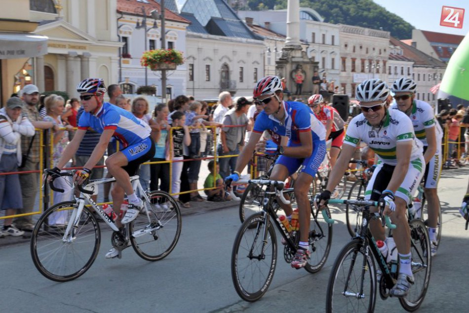 V OBRAZOCH:  Medzinárodné cyklistické preteky Okolo Slovenska