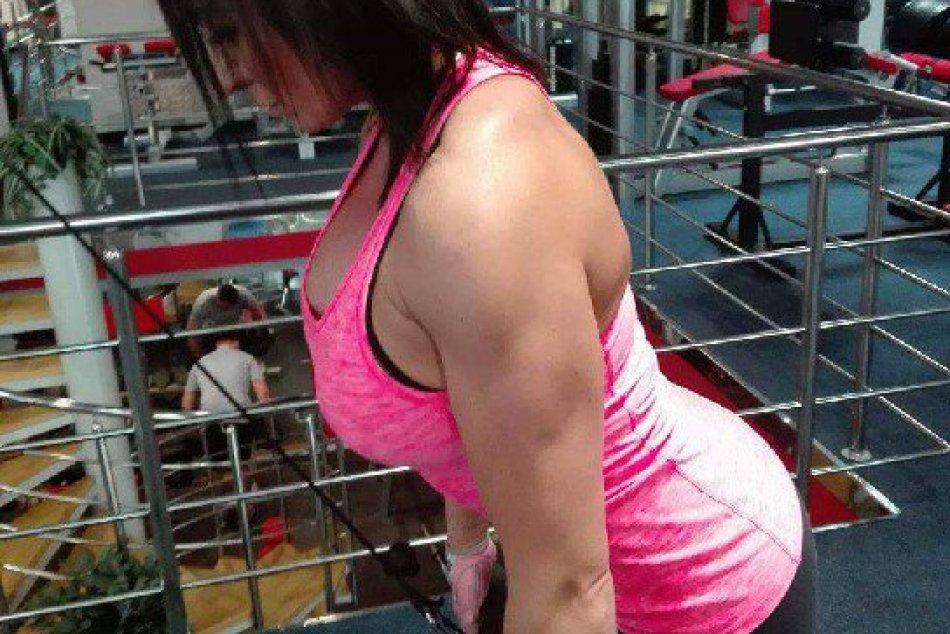 V OBRAZOCH: Fitnesska z Brezna Branka