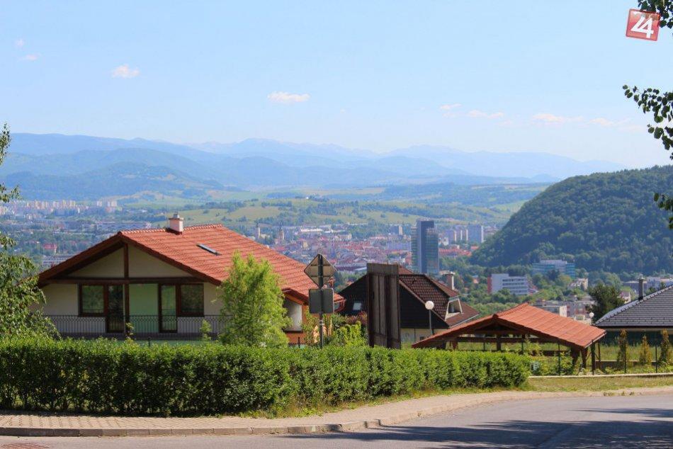 V OBRAZOCH: Bystrica z výšky Suchého vrchu