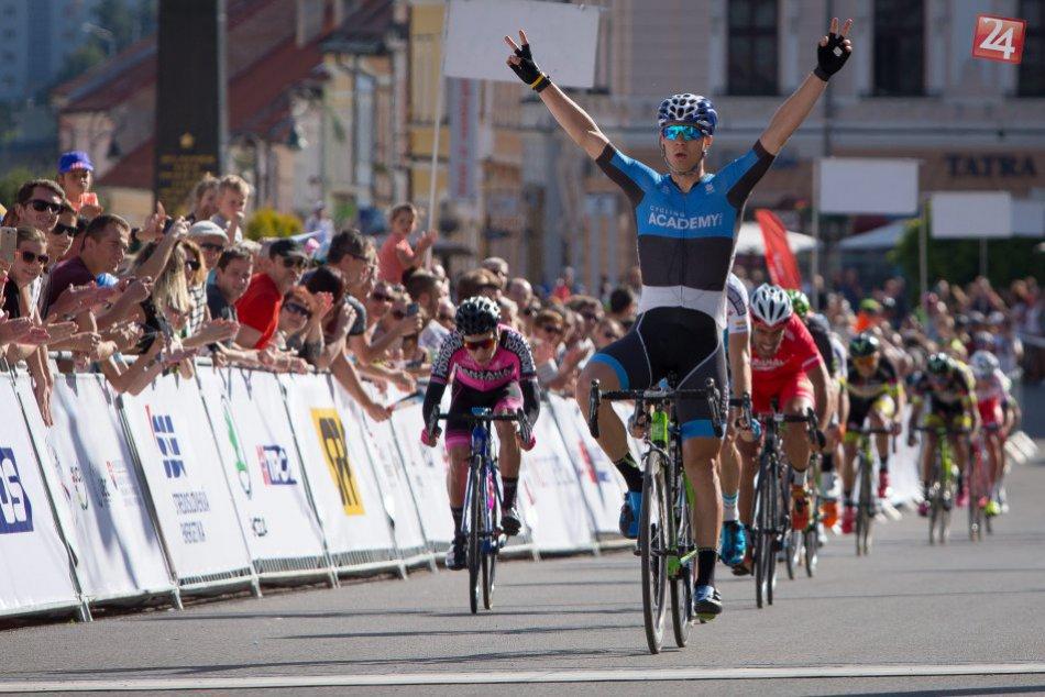 V OBRAZOCH: Bystrica zažila medzinárodné cyklistické preteky