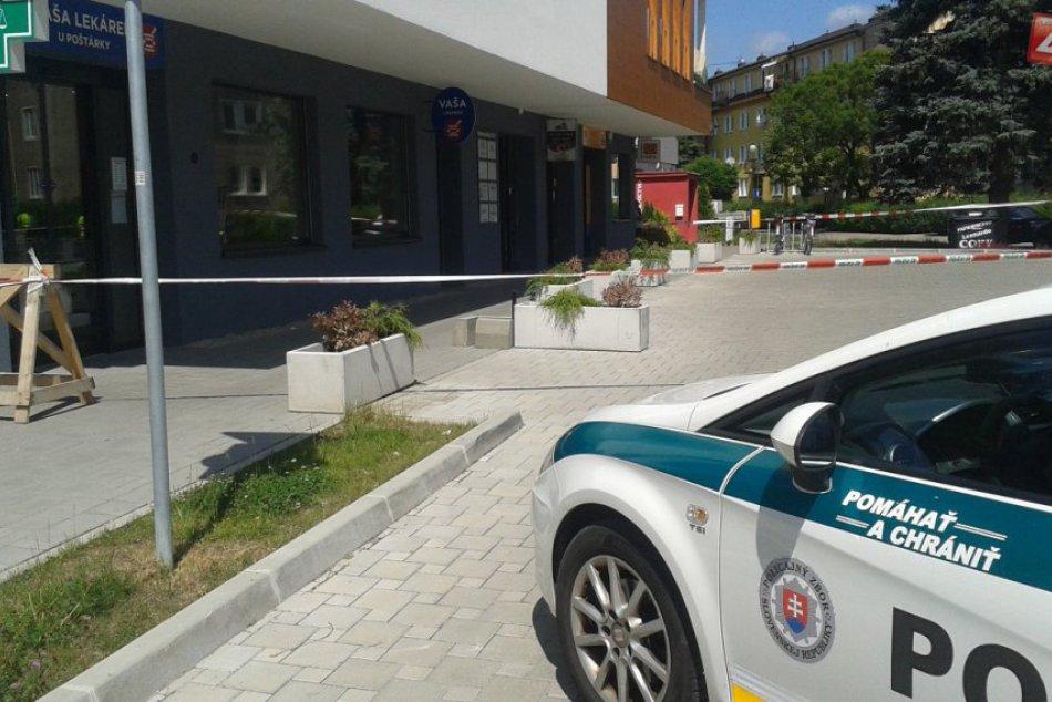 Policajti na poštách: Uzavretá pobočka v Považskej pri nemocnici