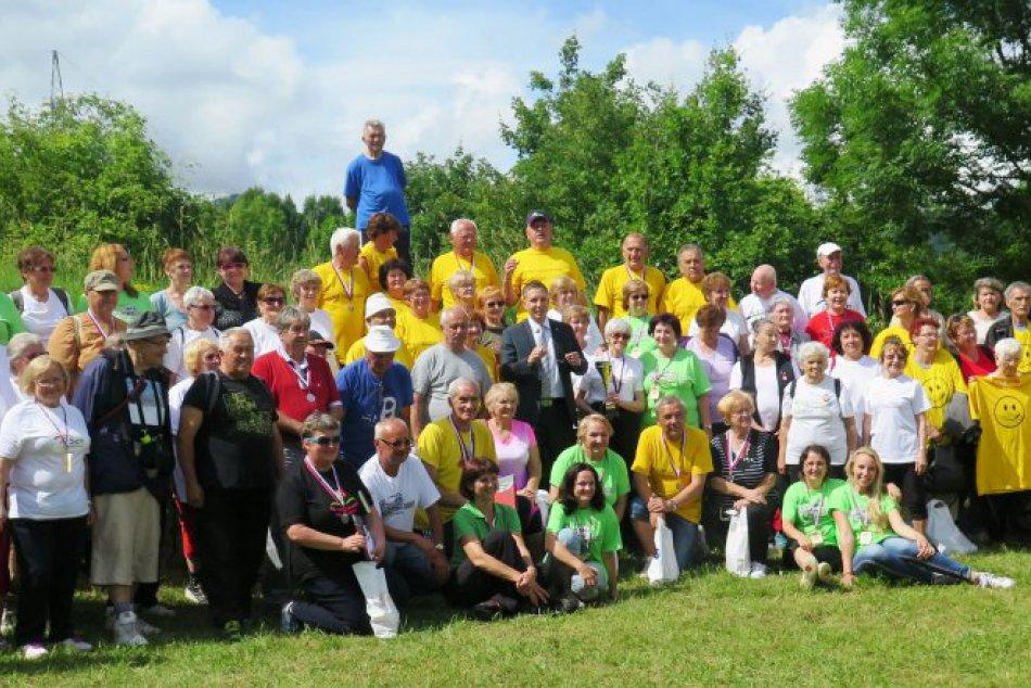 V OBRAZOCH: Športiáda seniorov v Bystrici