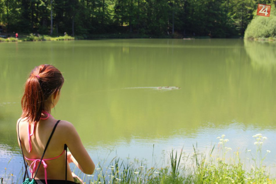 V OBRAZOCH: Prírodný klenot pri Bystrici, Mútne jazero