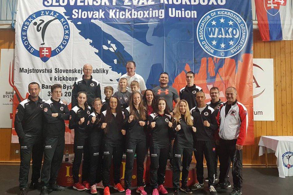Zápolenia prešovských kickboxerov: V ringu vydolovali ďalšie medaily