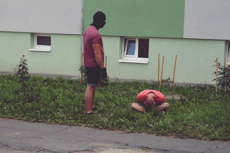 Obrazom: Zásah kukláčov v Rožňave