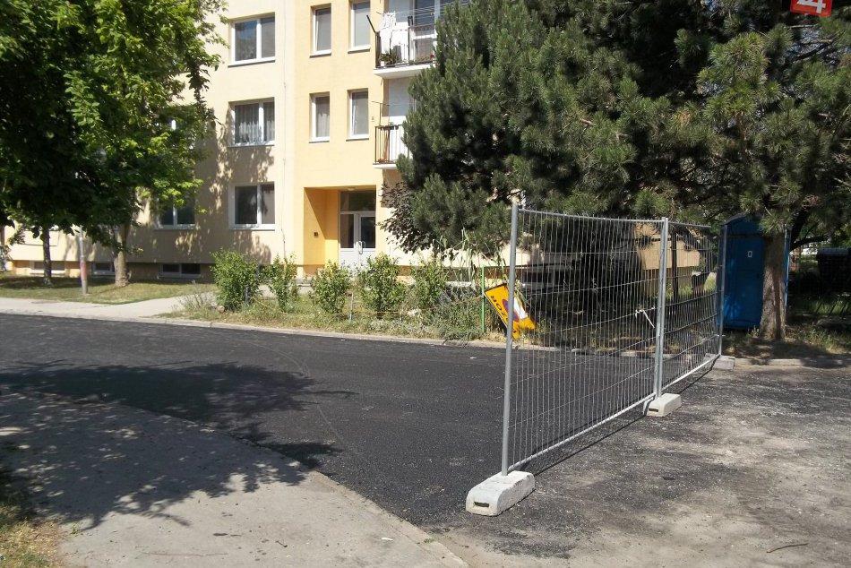FOTO: Cintorínska ulica sa modernizuje, čochvíľa bude dokončená